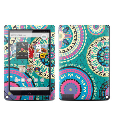 Barnes and Noble NOOK HD Plus Tablet Skin - Silk Road