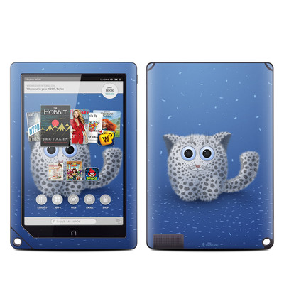 Barnes and Noble NOOK HD Plus Tablet Skin - Snow Leopard