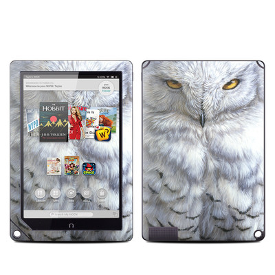 Barnes and Noble NOOK HD Plus Tablet Skin - Snowy Owl