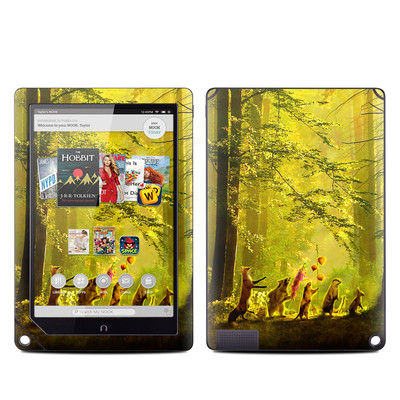 Barnes and Noble NOOK HD Plus Tablet Skin - Secret Parade