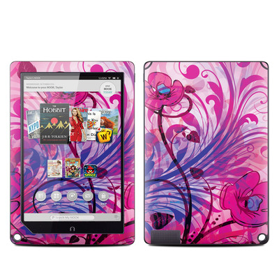 Barnes and Noble NOOK HD Plus Tablet Skin - Spring Breeze