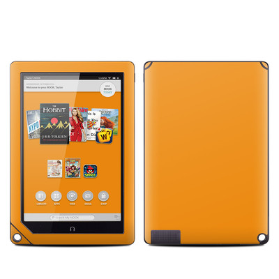 Barnes and Noble NOOK HD Plus Tablet Skin - Solid State Orange