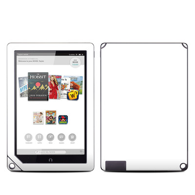 Barnes and Noble NOOK HD Plus Tablet Skin - Solid State White