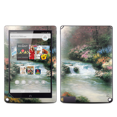 Barnes and Noble NOOK HD Plus Tablet Skin - Beside Still Waters