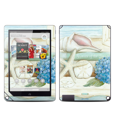 Barnes and Noble NOOK HD Plus Tablet Skin - Stories of the Sea