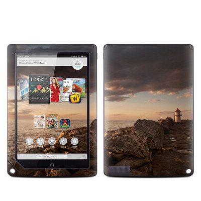 Barnes and Noble NOOK HD Plus Tablet Skin - Sunset Beacon