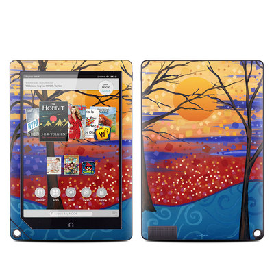 Barnes and Noble NOOK HD Plus Tablet Skin - Sunset Moon