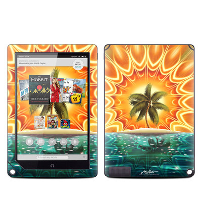 Barnes and Noble NOOK HD Plus Tablet Skin - Sundala Tropic