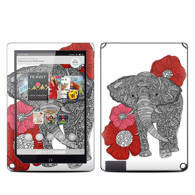 Barnes and Noble NOOK HD Plus Tablet Skin - The Elephant