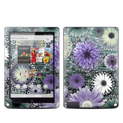 Barnes and Noble NOOK HD Plus Tablet Skin - Tidal Bloom