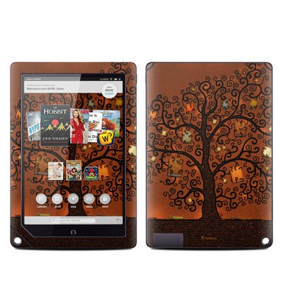 Barnes and Noble NOOK HD Plus Tablet Skin - Tree Of Books
