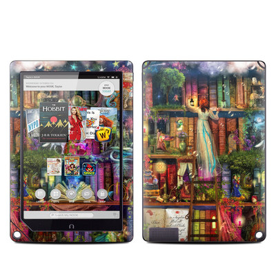 Barnes and Noble NOOK HD Plus Tablet Skin - Treasure Hunt