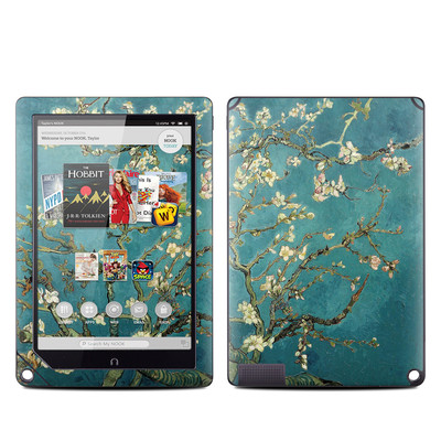Barnes and Noble NOOK HD Plus Tablet Skin - Blossoming Almond Tree
