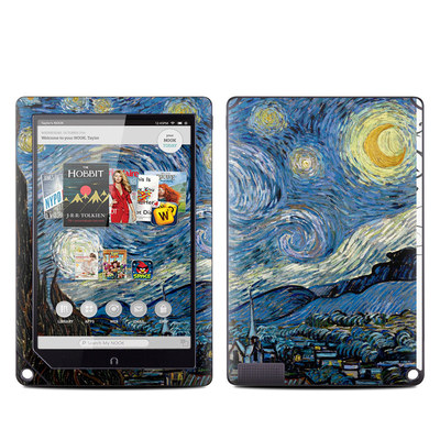 Barnes and Noble NOOK HD Plus Tablet Skin - Starry Night