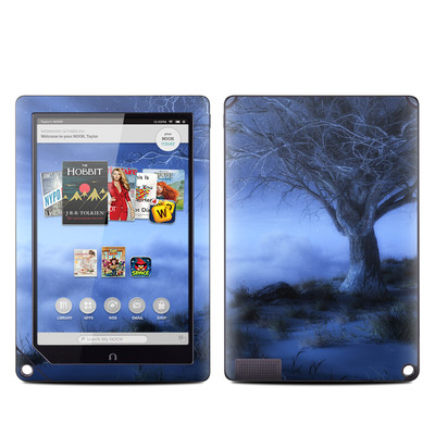 Barnes and Noble NOOK HD Plus Tablet Skin - World's Edge Winter