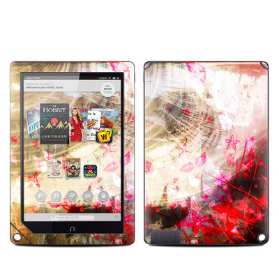 Barnes and Noble NOOK HD Plus Tablet Skin - Woodflower
