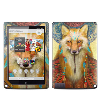 Barnes and Noble NOOK HD Plus Tablet Skin - Wise Fox