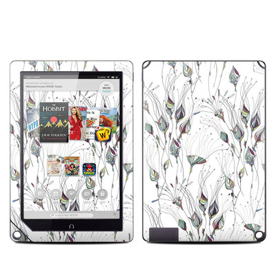 Barnes and Noble NOOK HD Plus Tablet Skin - Wildflowers