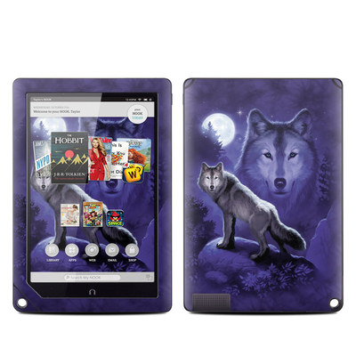 Barnes and Noble NOOK HD Plus Tablet Skin - Wolf