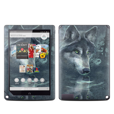 Barnes and Noble NOOK HD Plus Tablet Skin - Wolf Reflection