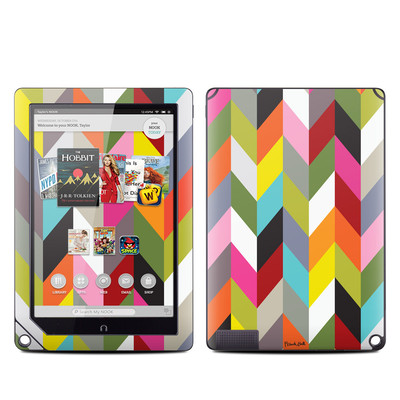 Barnes and Noble NOOK HD Plus Tablet Skin - Ziggy Condensed