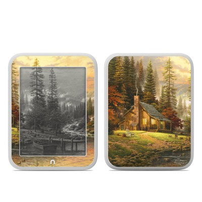 Barnes and Noble NOOK GlowLight Skin - A Peaceful Retreat
