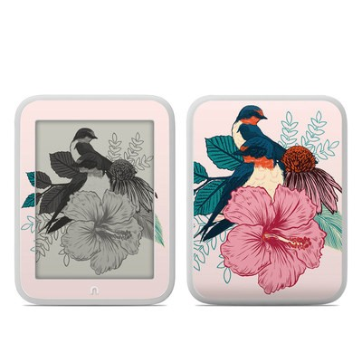 Barnes and Noble NOOK GlowLight Skin - Barn Swallows