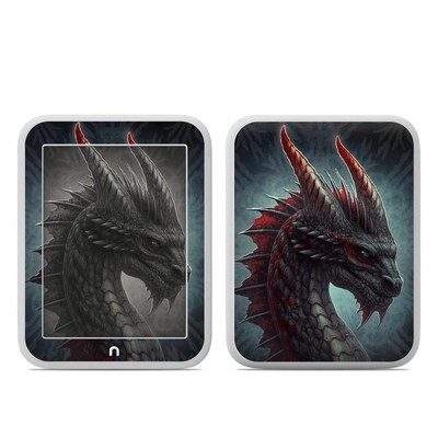 Barnes and Noble NOOK GlowLight Skin - Black Dragon