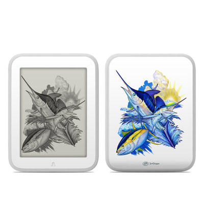 Barnes and Noble NOOK GlowLight Skin - Blue White and Yellow
