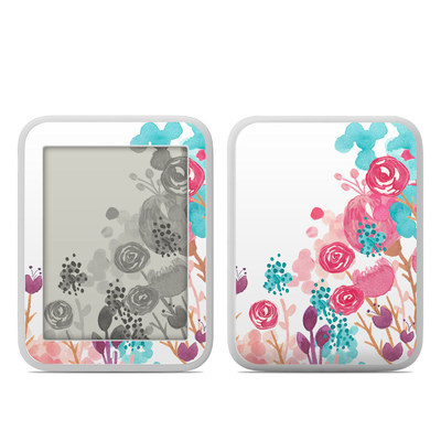 Barnes and Noble NOOK GlowLight Skin - Blush Blossoms
