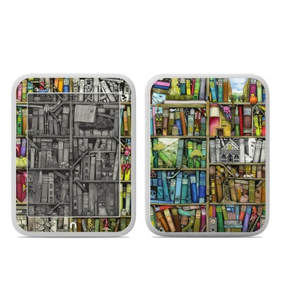 Barnes and Noble NOOK GlowLight Skin - Bookshelf