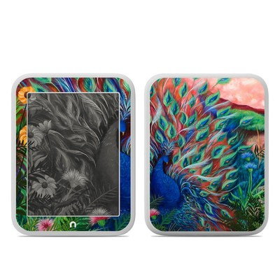 Barnes and Noble NOOK GlowLight Skin - Coral Peacock