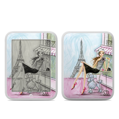 Barnes and Noble NOOK GlowLight Skin - Cafe Paris