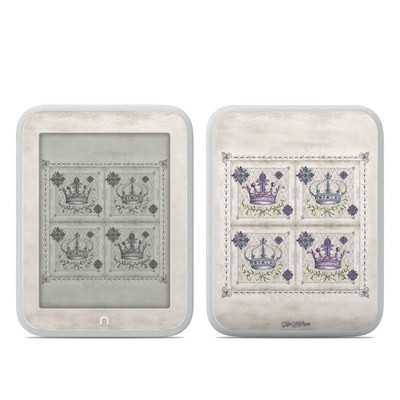 Barnes and Noble NOOK GlowLight Skin - Purple Crown
