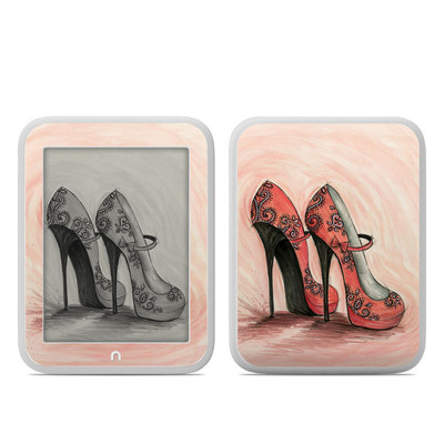 Barnes and Noble NOOK GlowLight Skin - Coral Shoes