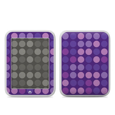 Barnes and Noble NOOK GlowLight Skin - Big Dots Purple
