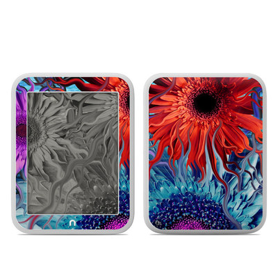 Barnes and Noble NOOK GlowLight Skin - Deep Water Daisy Dance