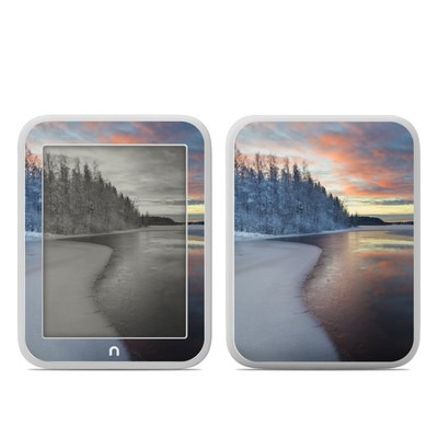 Barnes and Noble NOOK GlowLight Skin - Evening Snow