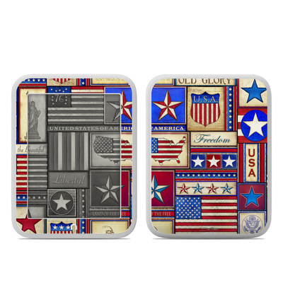 Barnes and Noble NOOK GlowLight Skin - Flag Patchwork