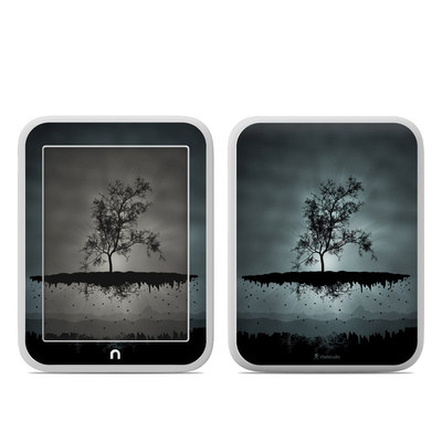 Barnes and Noble NOOK GlowLight Skin - Flying Tree Black