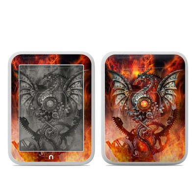 Barnes and Noble NOOK GlowLight Skin - Furnace Dragon