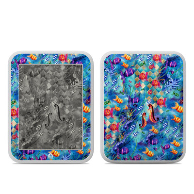 Barnes and Noble NOOK GlowLight Skin - Harlequin Seascape