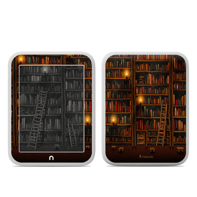 Barnes and Noble NOOK GlowLight Skin - Library