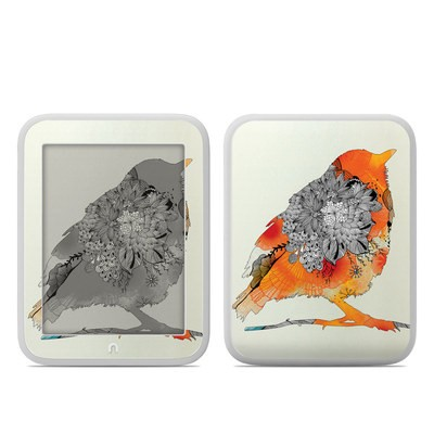 Barnes and Noble NOOK GlowLight Skin - Orange Bird