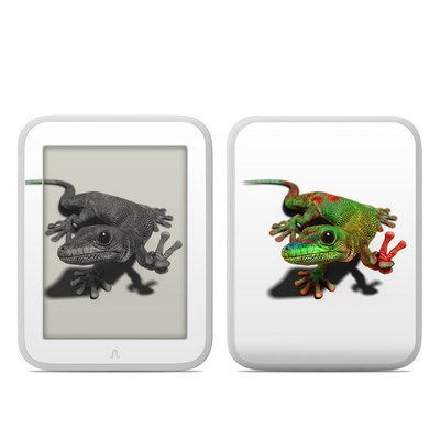 Barnes and Noble NOOK GlowLight Skin - Peace Gecko
