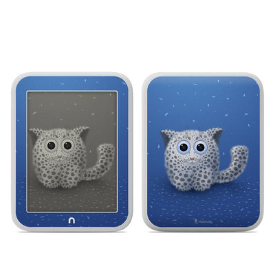Barnes and Noble NOOK GlowLight Skin - Snow Leopard