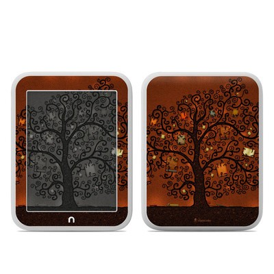 Barnes and Noble NOOK GlowLight Skin - Tree Of Books