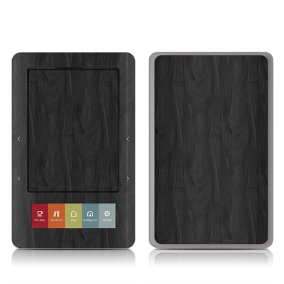 Nook Skin - Black Woodgrain