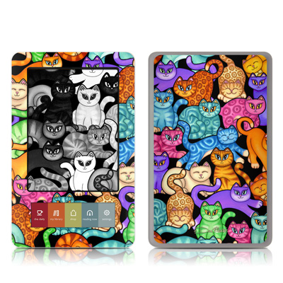 Nook Skin - Colorful Kittens