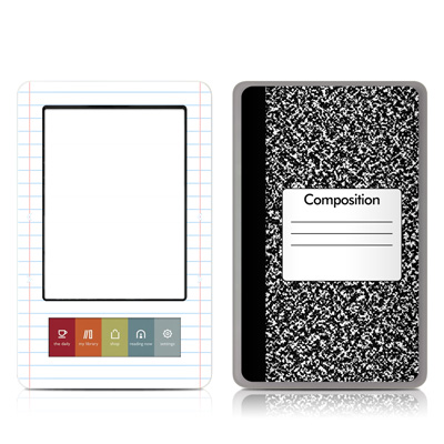 Nook Skin - Composition Notebook
